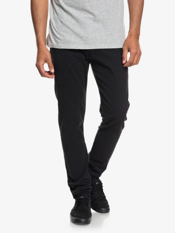 0 Dawn To Dust - Pantalon coupe slim pour Homme Noir EQYNP03140 Quiksilver
