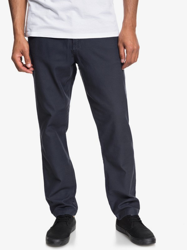 0 Mitake - Fatigue Trousers for Men Blue EQYNP03148 Quiksilver