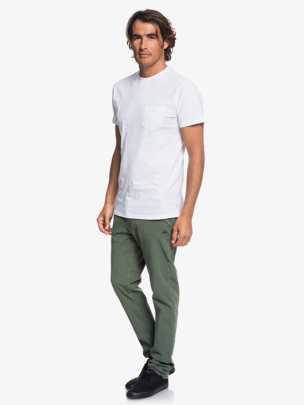 Krandy - Slim Fit Chinos for Men EQYNP03149
