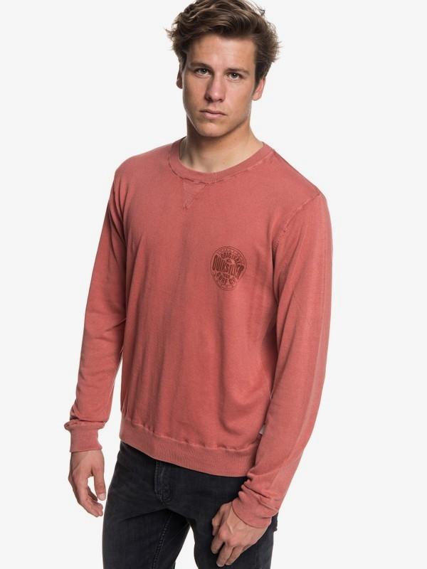0 Miyako Reef - Jersey para Hombre Rojo EQYSW03221 Quiksilver