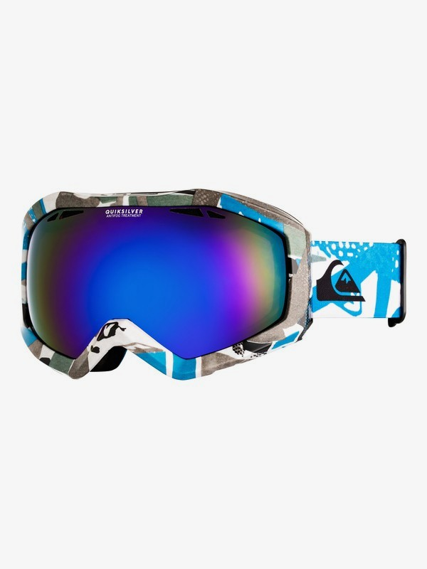 0 Fenom Art Series - Masque de ski/snowboard pour Homme Bleu EQYTG03073 Quiksilver