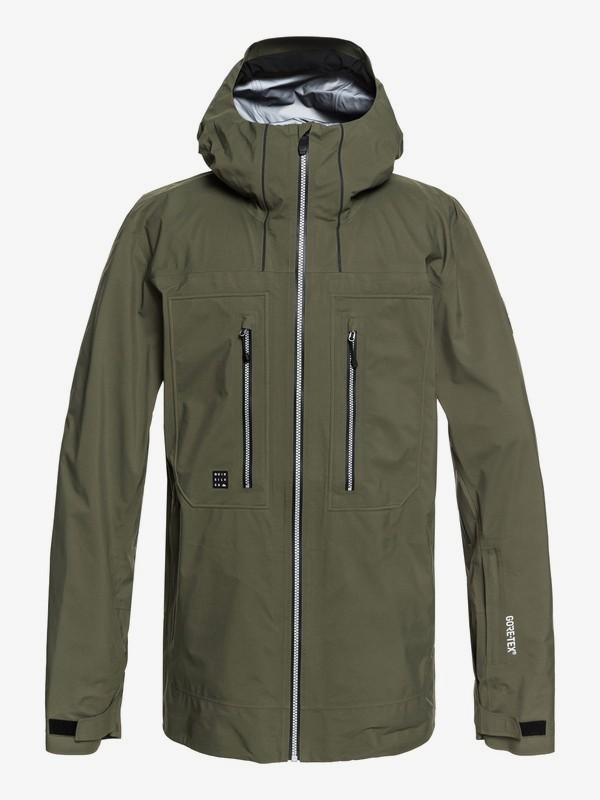 0 Mamatus 3L GORE-TEX® - Shell Snow Jacket for Men Brown EQYTJ03168 Quiksilver