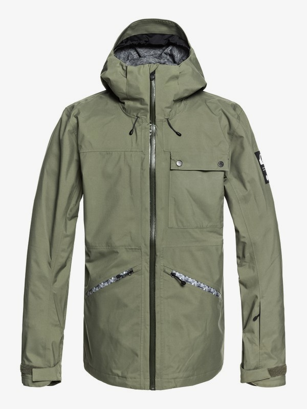 0 Snow SpinDye® - Shell Snow Jacket for Men  EQYTJ03171 Quiksilver