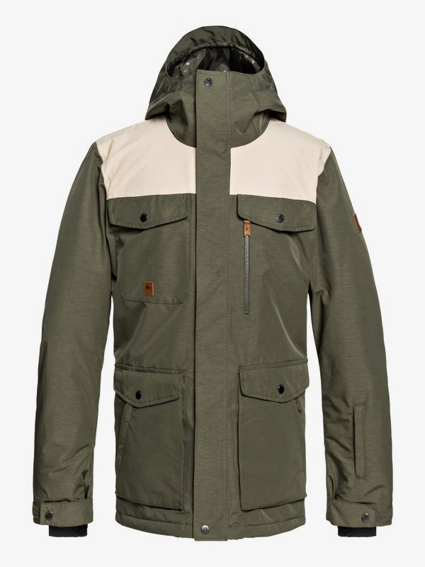 Raft - Military Snow Jacket for Men EQYTJ03188