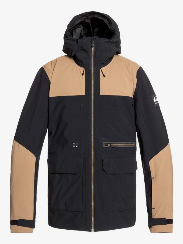 0 Arrow Wood - Snow Jacket for Men Black EQYTJ03212 Quiksilver
