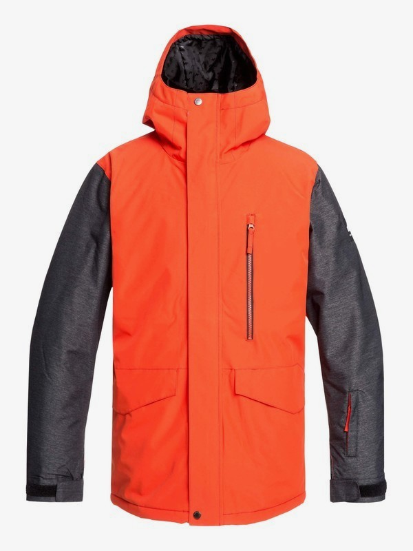 0 Mission - Snow Jacket for Men Orange EQYTJ03221 Quiksilver