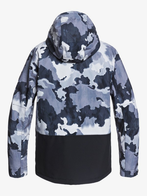 Mission Printed Block - Snow Jacket for Men  EQYTJ03268