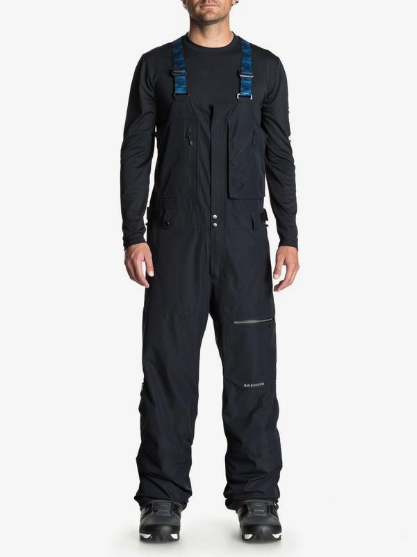 0 Altostratus 2L GORE-TEX® - Shell Snow Bib Pants for Men Black EQYTP03079 Quiksilver