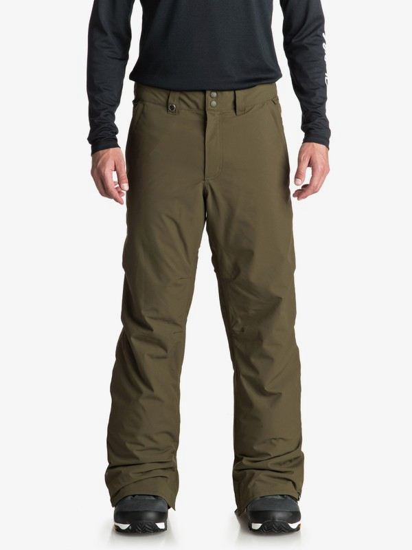 0 Estate - Snow Pants for Men Brown EQYTP03088 Quiksilver