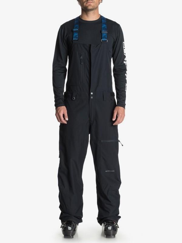 0 Stratus - Shell Snow Bib Pants for Men Black EQYTP03091 Quiksilver
