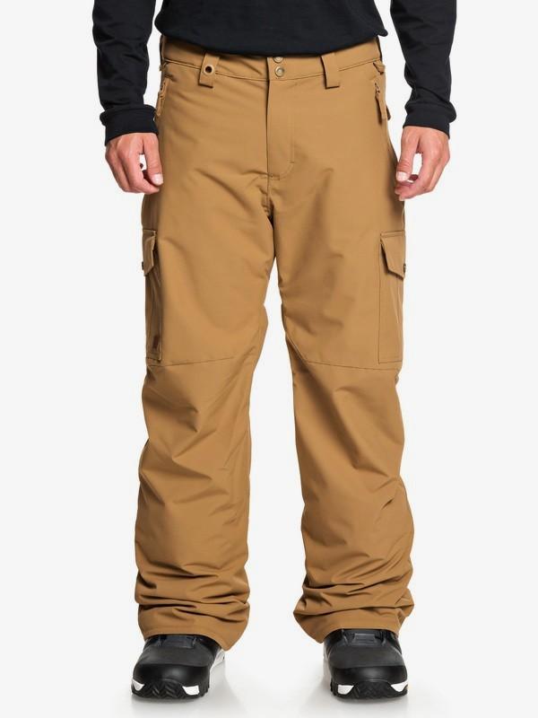 0 Porter - Snow Pants for Men Brown EQYTP03118 Quiksilver