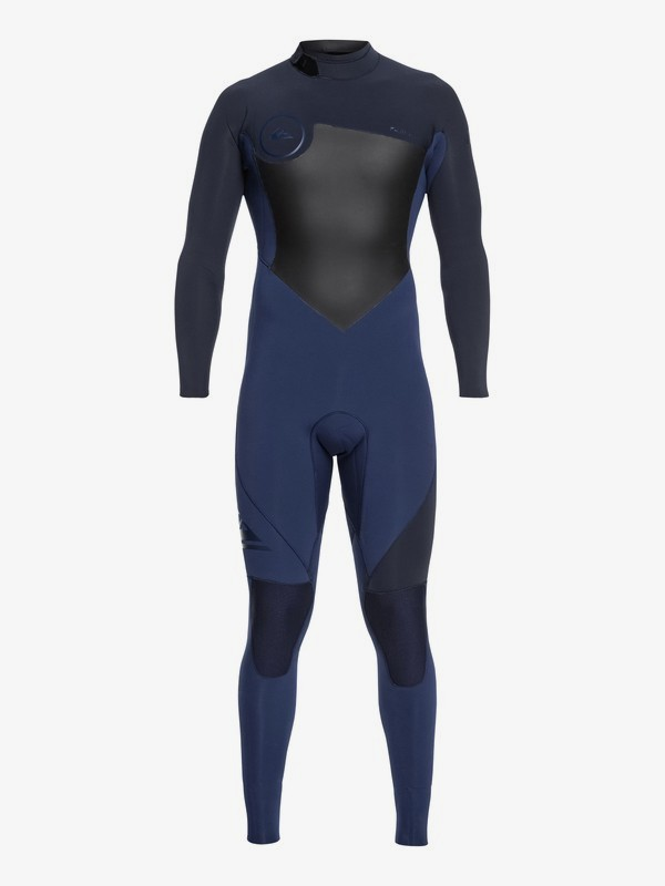 0 3/2mm Syncro Series - Back Zip GBS Wetsuit for Men Blue EQYW103037 Quiksilver