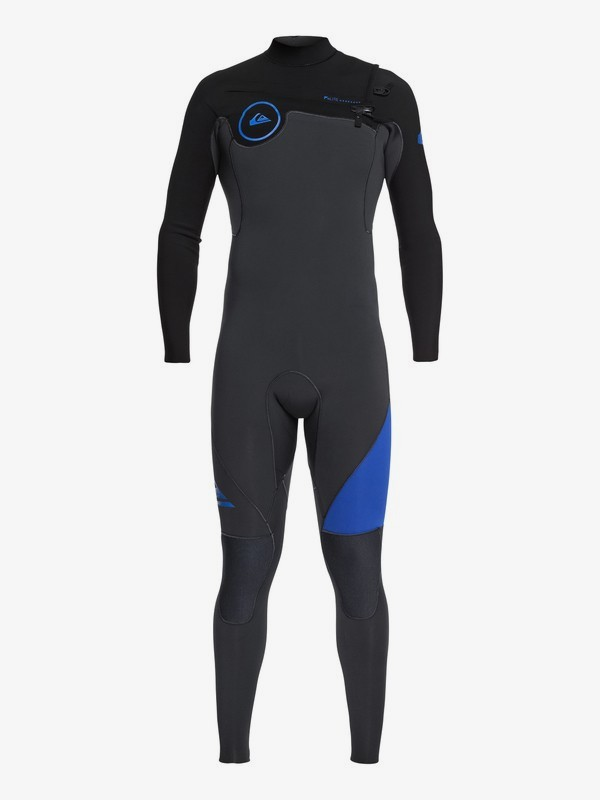 0 3/2mm Syncro Series - Chest Zip GBS Wetsuit for Men Blue EQYW103038 Quiksilver