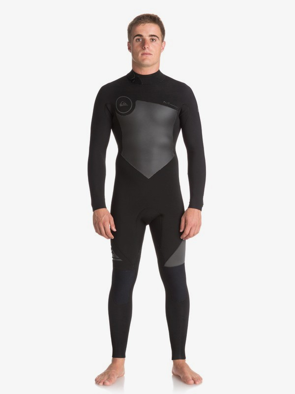 0 4/3mm Syncro Series - Back Zip GBS Wetsuit for Men Black EQYW103041 Quiksilver