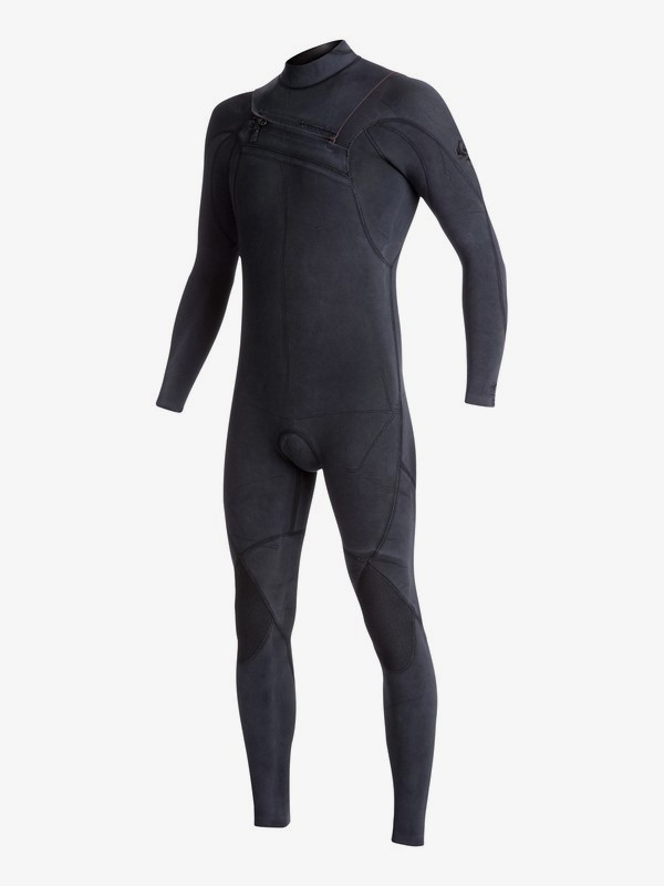 3/2mm Quiksilver Originals Monochrome - Chest Zip Wetsuit for Men EQYW103053