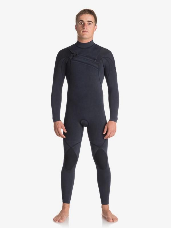 0 3/2mm Quiksilver Originals Monochrome - Chest Zip Wetsuit for Men  EQYW103053 Quiksilver