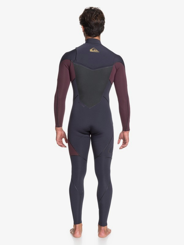 4/3mm Highline Plus - Chest Zip Wetsuit for Men  EQYW103059