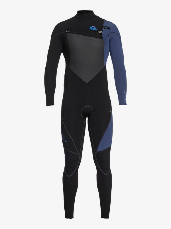 0 3/2mm Highline Plus - Chest Zip Wetsuit Black EQYW103060 Quiksilver