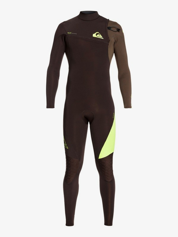 0 3/2mm Highline Lite - Zipperless Wetsuit for Men Brown EQYW103062 Quiksilver