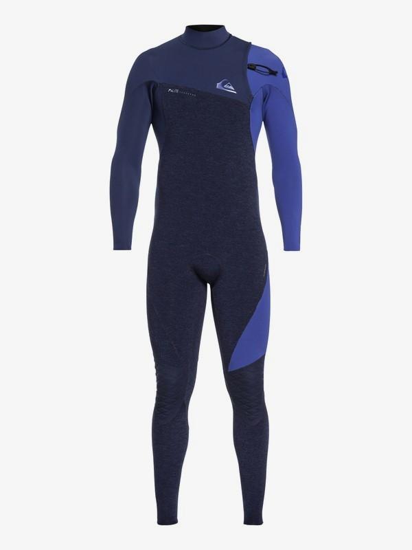 0 3/2mm Highline Lite - Zipperless Wetsuit for Men Blue EQYW103062 Quiksilver