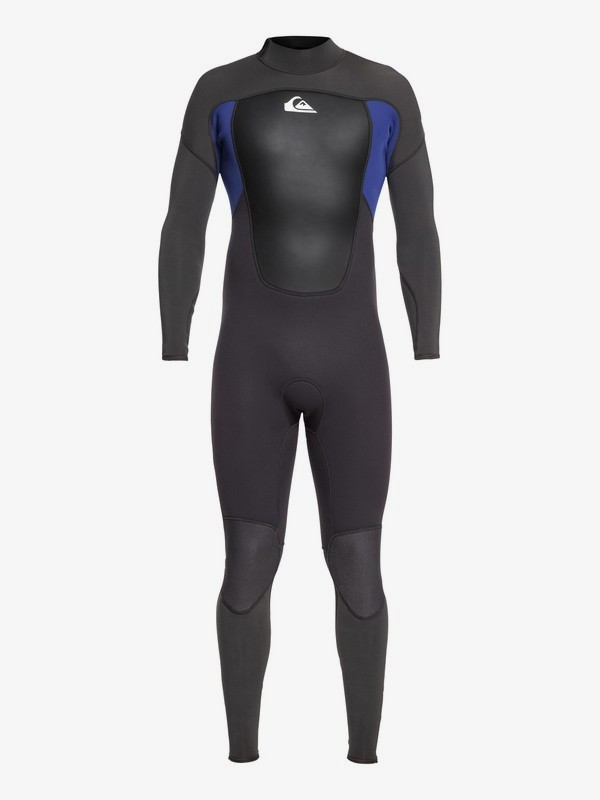 0 4/3mm Prologue - Back Zip Wetsuit for Men Black EQYW103067 Quiksilver