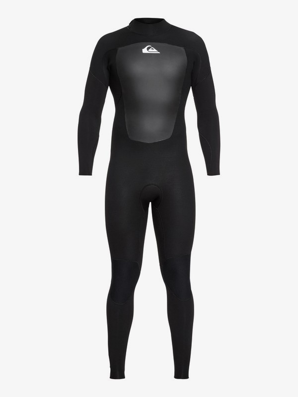 0 5/4/3mm Prologue - Back Zip Wetsuit for Men Black EQYW103072 Quiksilver