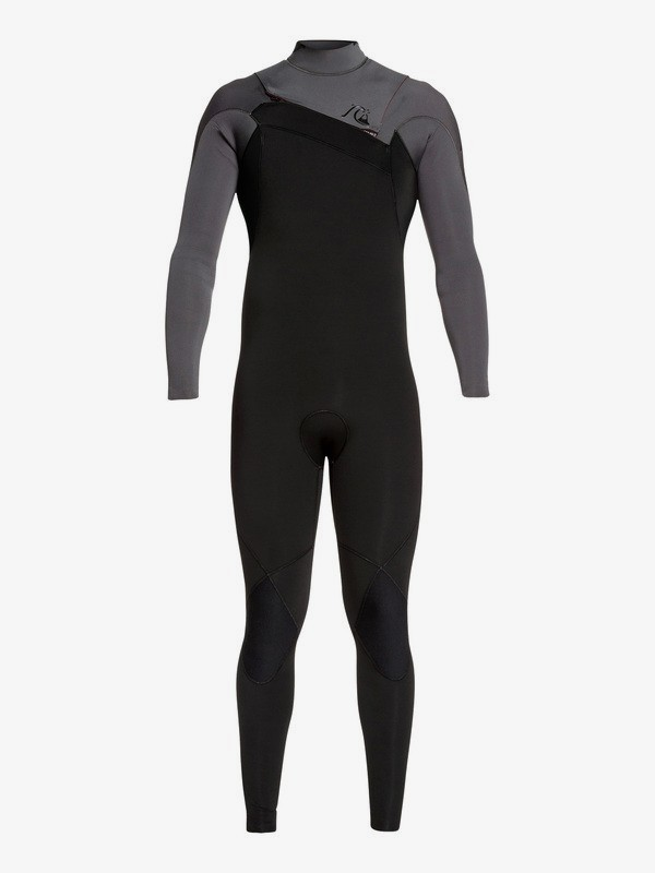 0 3/2mm Highline Ltd Monochrome - Chest Zip Wetsuit for Men Grey EQYW103075 Quiksilver