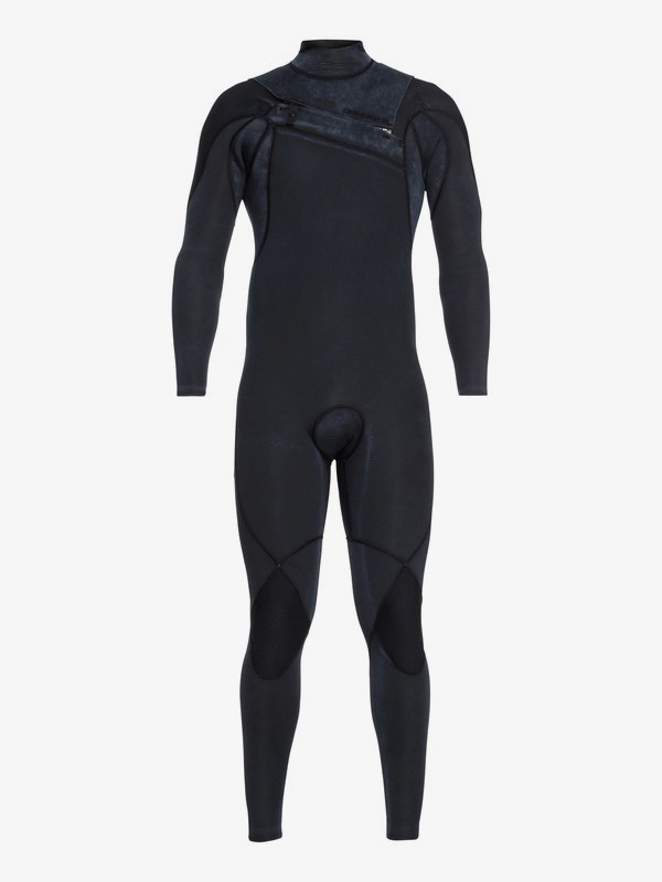 0 3/2mm Highline Ltd Monochrome - Chest Zip Wetsuit for Men Black EQYW103075 Quiksilver
