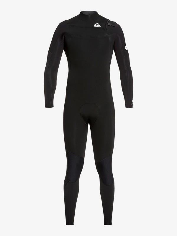 0 5/4/3mm Syncro - Traje de Surf GBS con Cremallera en el Pecho para Hombre Negro EQYW103089 Quiksilver