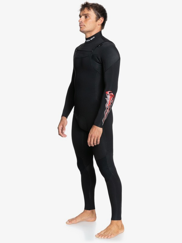 4/3mm Capsule Everyday Sessions - Chest Zip Wetsuit for Men  EQYW103128
