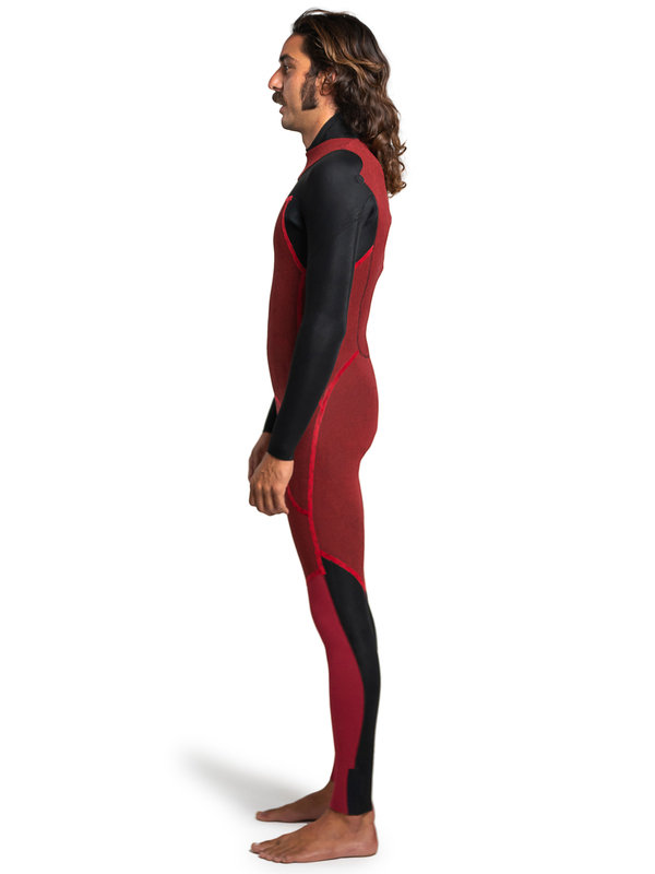 2.5 Capsule Everyday Sessions G-Skin - Back Zip Wetsuit for Men  EQYW103135