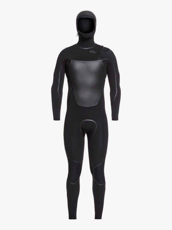 4/3mm Syncro Plus - Hooded Chest Zip Wetsuit for Men EQYW203012