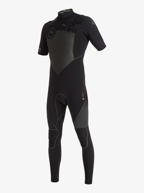Highline Performance 2/2mm - Chest Zip Short Sleeve Full Wetsuit  EQYW303002