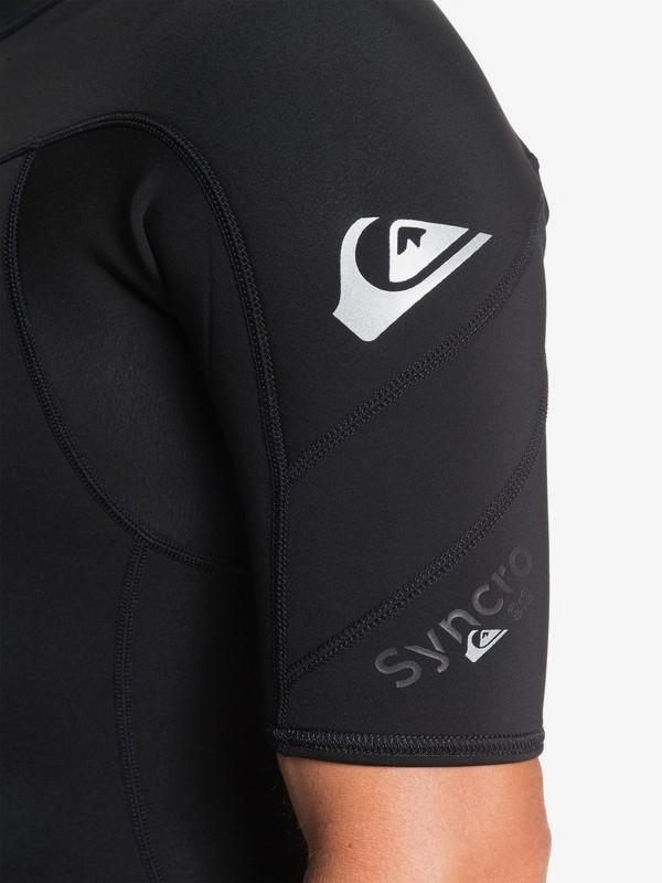 2/2mm Syncro - Back Zip Short Sleeve Springsuit for Men  EQYW303013