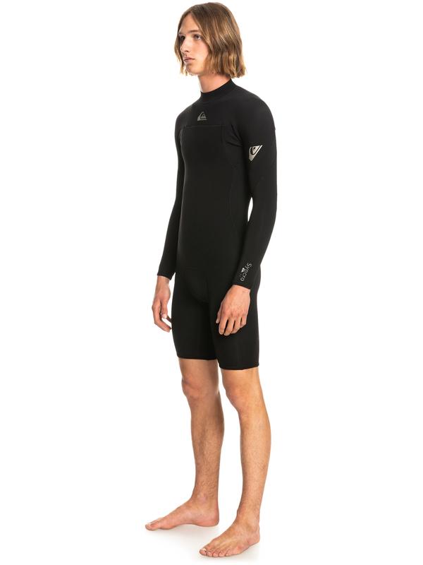 2/2mm Syncro - Back Zip Long Sleeve Springsuit for Men  EQYW403014