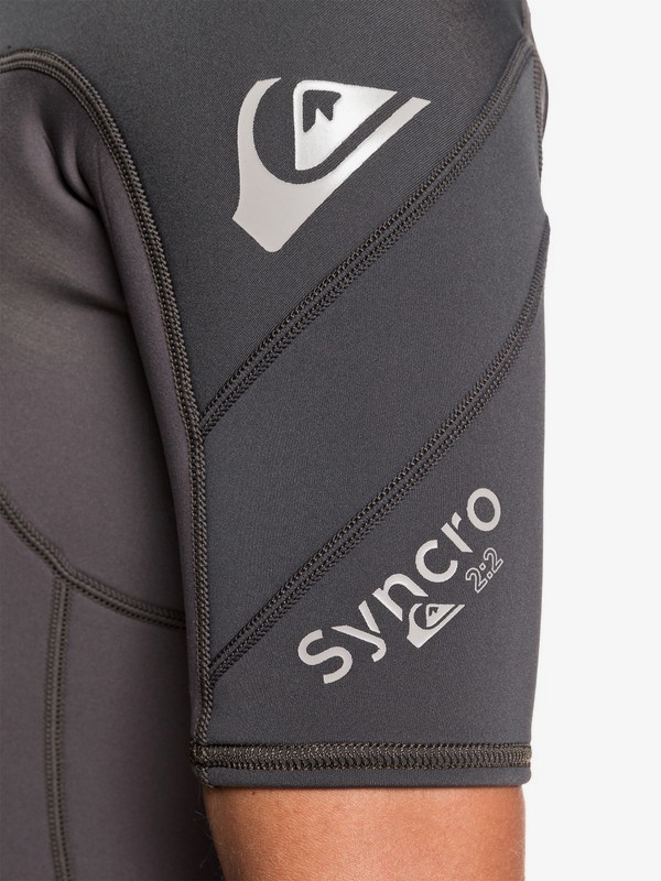 2/2mm Syncro - Chest Zip Short Sleeve Springsuit for Men  EQYW503023