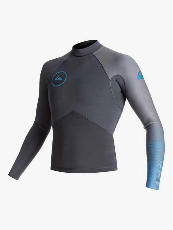 2mm Highline Plus - Long Sleeve Neoprene Top for Men EQYW803009