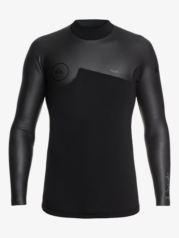 0 2mm Highline Plus - Top de surf néoprène manches longues pour Homme  EQYW803018 Quiksilver