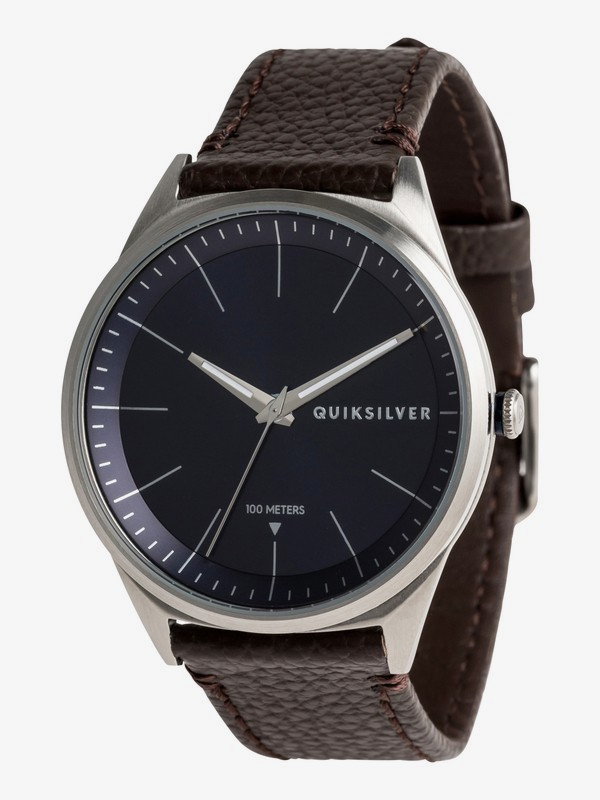 0 Bienville Leather - Analogue Watch for Men Blue EQYWA03014 Quiksilver