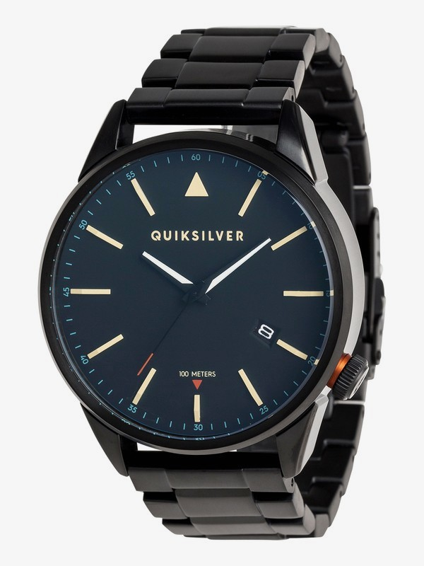 0 The Timebox Metal - Analogue Watch for Men Black EQYWA03026 Quiksilver