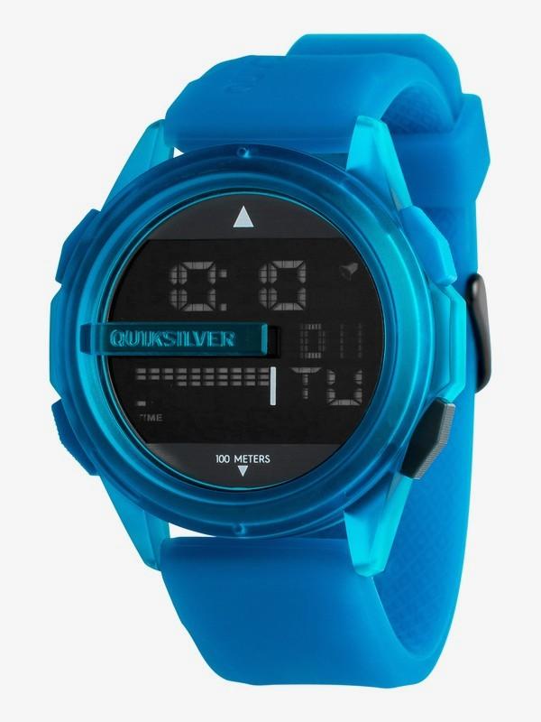 0 Drone - Reloj Digital para Hombre Azul EQYWD03003 Quiksilver
