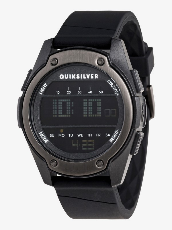 0 Stringer - Digital Watch for Men Black EQYWD03004 Quiksilver