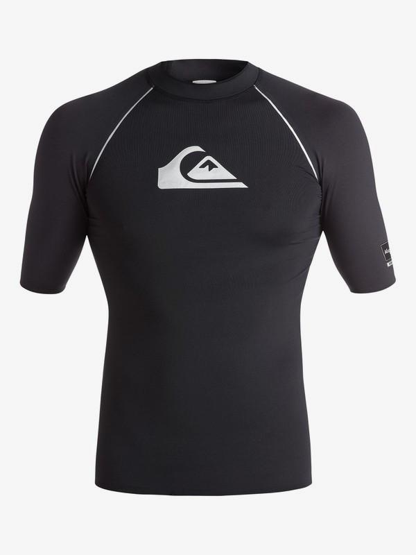 All Time Bonded - Short Sleeve Rash Vest EQYWR03009