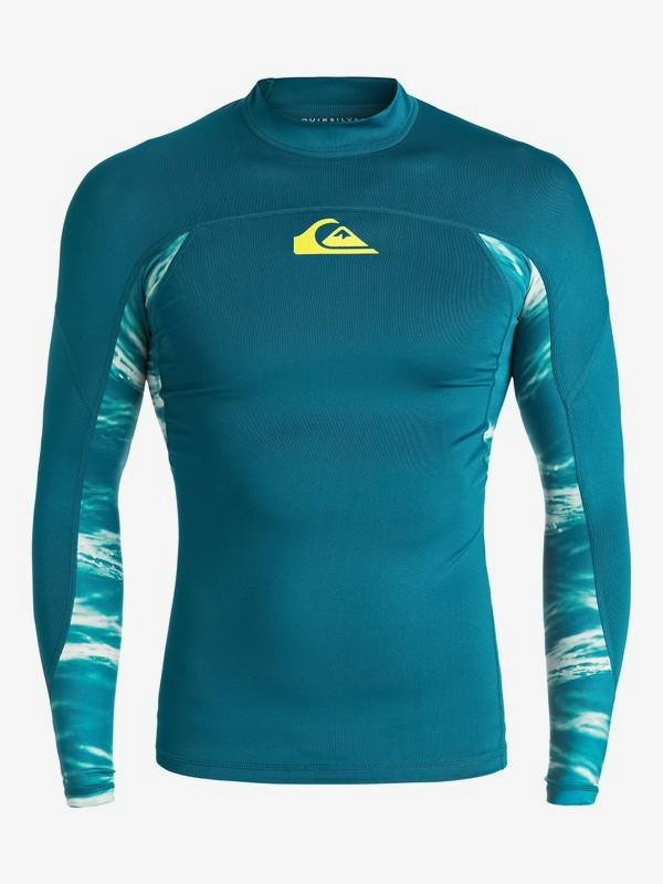 0 New Wave - Lycra à manches longues Bleu EQYWR03061 Quiksilver