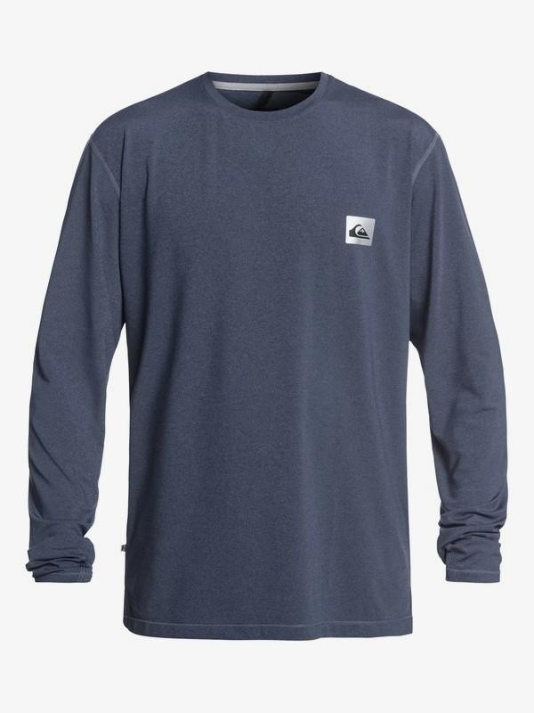0 Salty Dog - Long Sleeve UPF 50 Surf T-Shirt for Men Blue EQYWR03148 Quiksilver