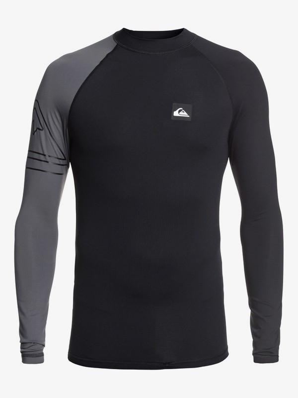 Active - Long Sleeve UPF 50 Rash Vest for Men EQYWR03191