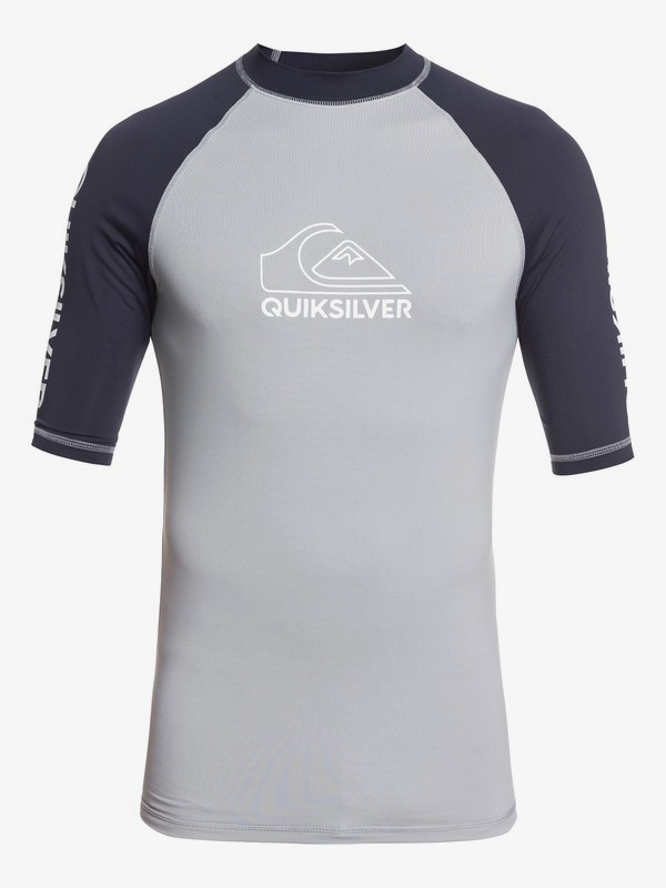 On Tour - Short Sleeve UPF 50 Rash Vest for Men  EQYWR03217