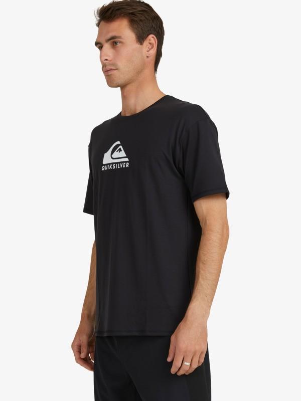 Solid Streak - Short Sleeve UPF 50 Surf T-Shirt for Men  EQYWR03235