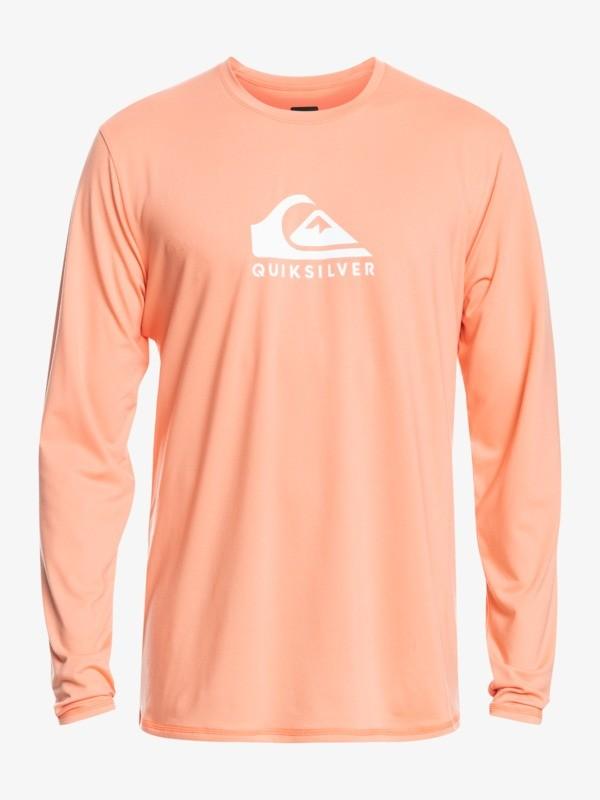 Solid Streak - Long Sleeve UPF 50 Surf T-Shirt for Men  EQYWR03247