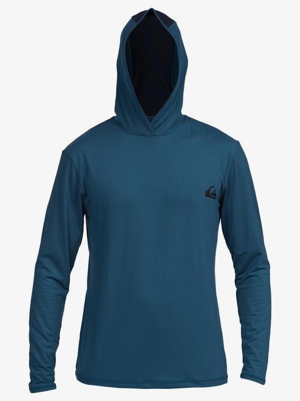 Dredge - Hooded Long Sleeve UPF 50 Rash Vest for Men  EQYWR03253